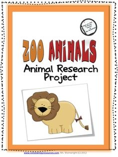 $4.00 This resource packet includes everything you will need to assign students a research project that they can complete independently. There are two va...