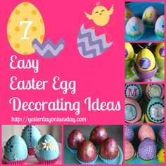 Simple and stunning Easter egg decorating ideas