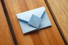 How to Fold an Origami Envelope