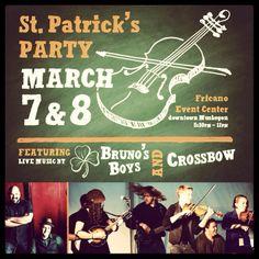 Party Time! #MIMF2014 #IrishMusic #MichiganIrish #MIMFStPats2014 #GetYourGreenOn #EveryonesIrish4StPats #StPats2014 http://www.michiganirish.org/tickets