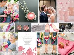 The Perfect Palette: {Love Sweet Love}: Shades of Pink & Gray
