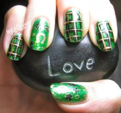 Light of the Moon Nails: Finger Foods Buffet Saint Patricks Day