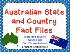 Learning about States & Territories of Australia