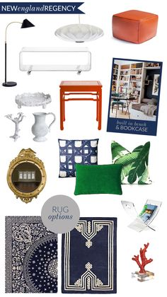 Planning a living room update / chinoiserie + new england + regency?