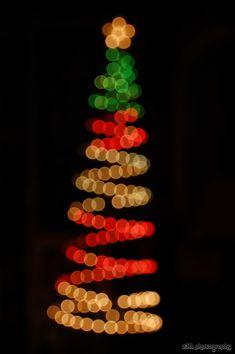 Bokeh Christmas Tree