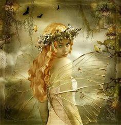 Stunning work. Innocent golden fairy