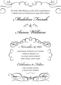 Letterpress Wedding Stationary On Pinterest