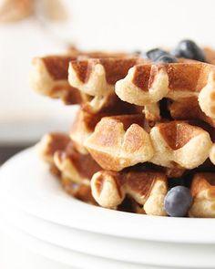 Whole Wheat Waffles [The FauxMartha]
