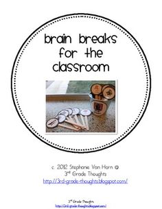 *Summer Sale!* These Brain Breaks are now at a lower price to get you all set up for next year's class! Enjoy :)