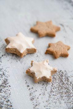 Zimtsterne, Cinnamon Star Cookies, Christmas Baking