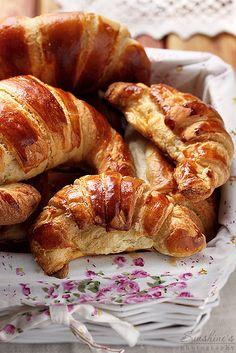 Homemade croissants by Irina Kupenska, via Flickr