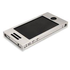 Aluminum Silver iPhone case - $123