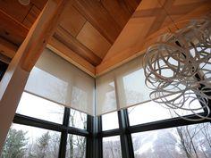 HGTV Dream Home 2011 Annex Window with Shades