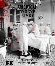 American Horror Story.  Incredibly haunting, disturbing and overly addicting.