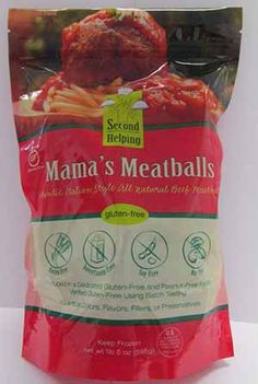 The best meatballs I have ever had! Also they are gluten free, dairy free, soy free and no preservatives!