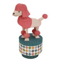 Push toy : Poodle - Toys - Paper CraftCanon CREATIVE PARK