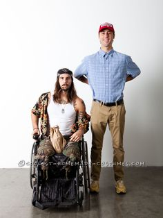 Lt. Dan and Forrest Gump Take Halloween by Storm... 2014 Halloween Costume Contest