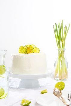 Ginger Lime Cake #recipe
