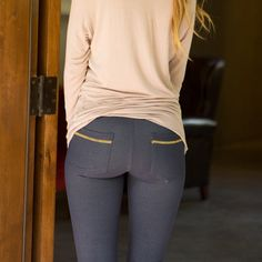 """Rock that rear view! The """"Apres Leggings"""" from Albion"""