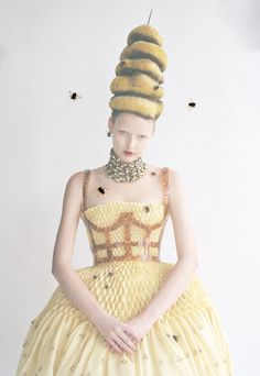 "Elza Luijendijk in ""High & Mighty"" for Vogue  by Tim Walker"