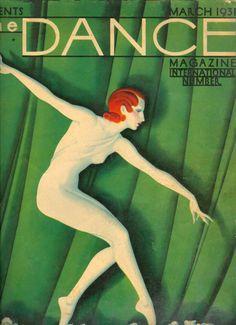 Franz Felix. La danza, revista de 1931.