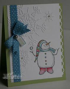 so much fun Another cute snowman!