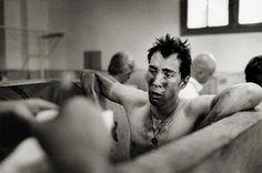 showers after the Paris Roubaix