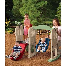 Little Tikes Swing Along Castle Climber