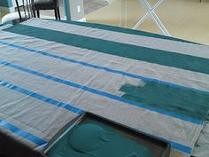 Painting drop cloth for curtains