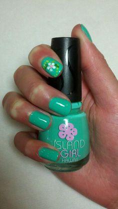 Hawaiian style nail