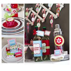 Vintage & Classic Holiday Christmas Parties