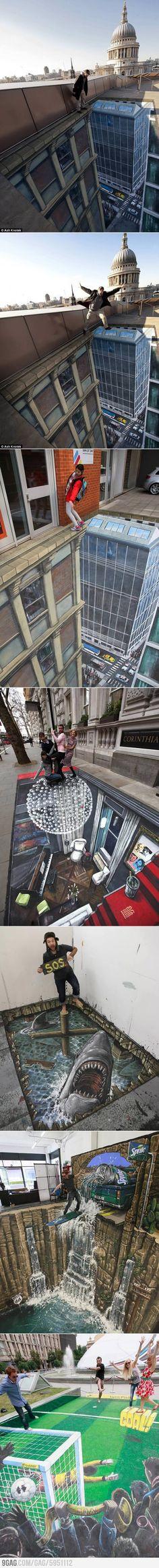 Great Pavement Art Selection