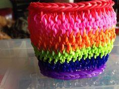 rainbowloom, rainbow loom dragon scale cuff, tail cuff, mustach tail, popular design, band loom, cuffs, cuff bracelets, rainbow loom bracelets
