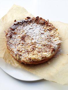 cinnamon almond cake, gluten-free