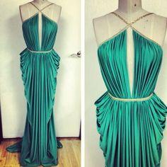 Goddess gown / michael costello