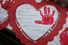 Valentine's Heart poems