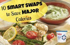10 Smart Swaps That Save Calories