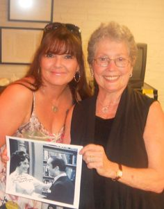 """Met Jackie Joseph (aka """"Sweet Romena...Ernest T's love...and she has had cameos in many, many shows and movies!) She was great!!"""