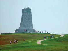 The Wright Brothers Memorial, at Kill Devil Hills, NC