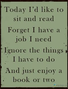 Enjoy a book or two