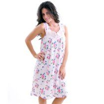 Body Touch Sleeveless Square Neck Floral Gown - Plus Size