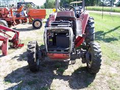 Massey Ferguson 1250 tractor salvaged for used parts. Call 877-530-4430 for the best used ag parts. http://www.TractorPartsASAP.com