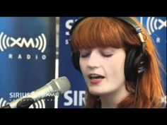 """Florence + The Machine """"Dog Days Are Over"""" LIVE Acoustic at SIRIUS XM.  Love the harp!"""