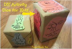 DIY Activity Dice for Kids!