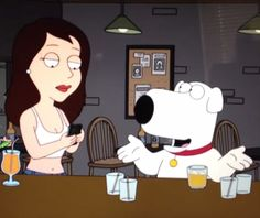 What You Can Learn From The Texting Girl In A Bar Episode Of Family Guy