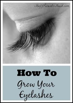 I tried this product and had success! How to grow eyelashes. 3 months later, they still look great! :-)