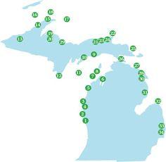 Michigan Lighthouses - Pure Michigan Travel