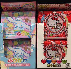 Japanese rice garnish for kids (((o(*゚▽゚*)o))) #Sanrio