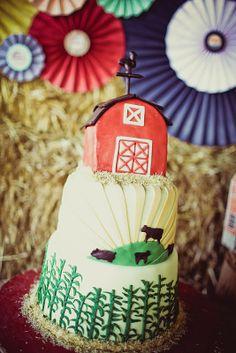 Down On The Farm Birthday Party