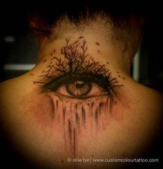 #InkedMag #Tattoo of The Day #Inked #tattoos #tattooed #art #eye #dark #ink